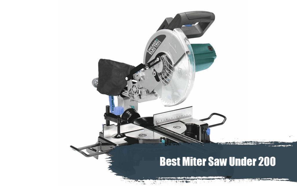Best Miter Saw 2020.Best Miter Saw Under 200 What Miter Saw Should I Buy